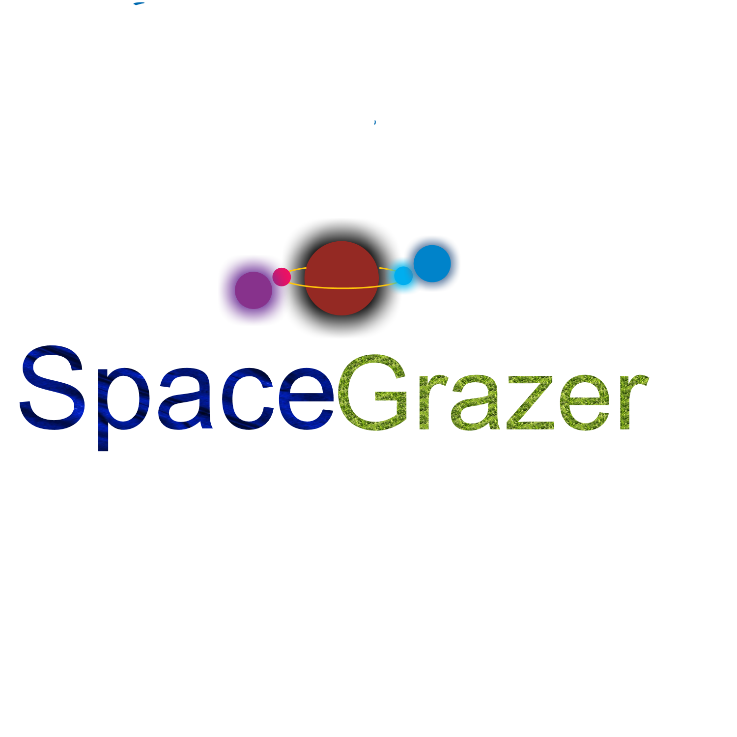 Logo Design by Melanie Fitzpatrick - Entry No. 73 in the Logo Design Contest Fun Logo Design for Spacegrazer.