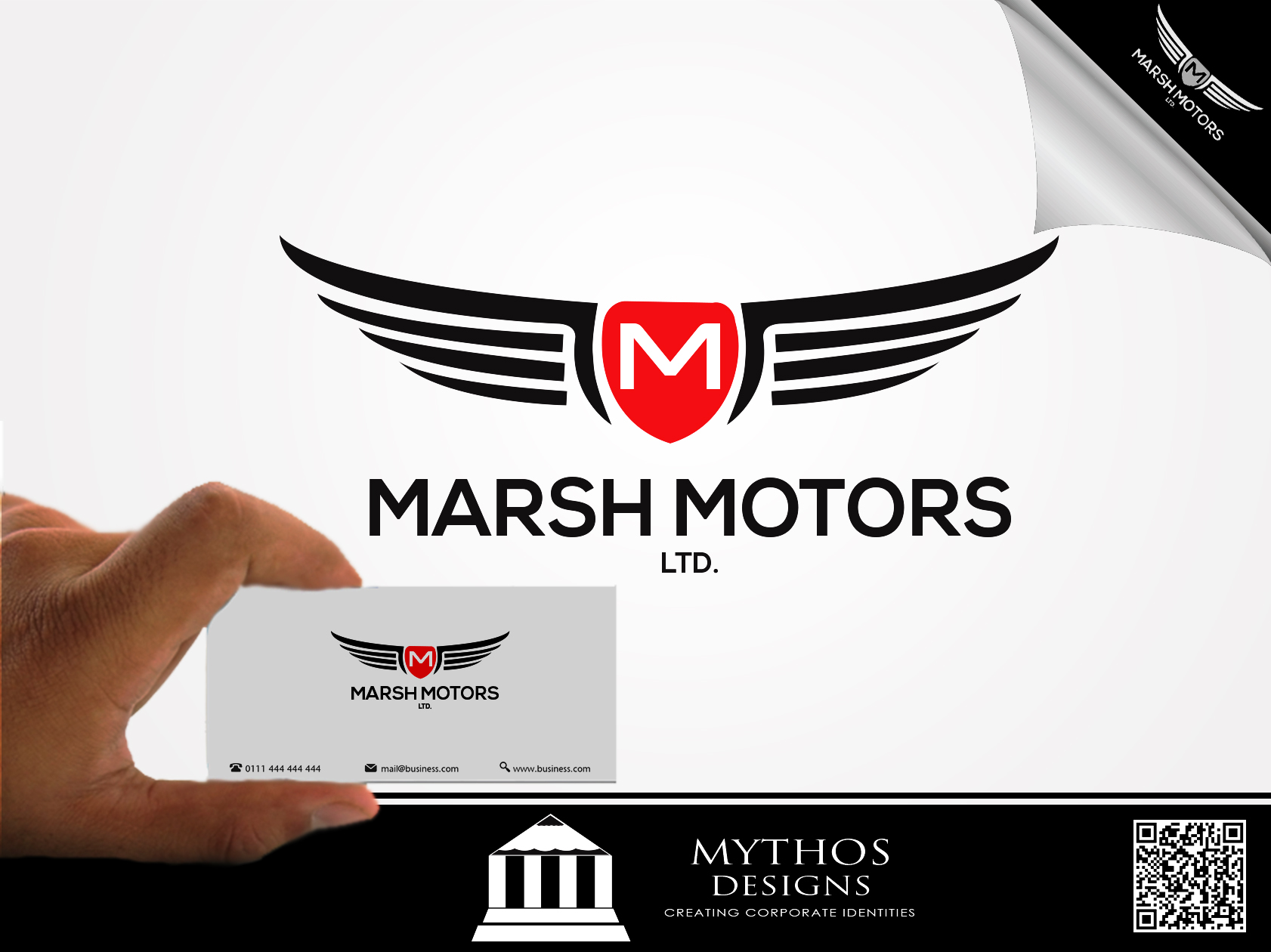 Logo Design by Mythos Designs - Entry No. 36 in the Logo Design Contest Marsh Motors Chrysler Logo Design.