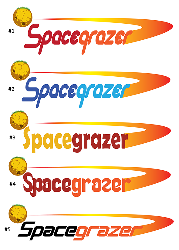 Logo Design by robken0174 - Entry No. 75 in the Logo Design Contest Fun Logo Design for Spacegrazer.