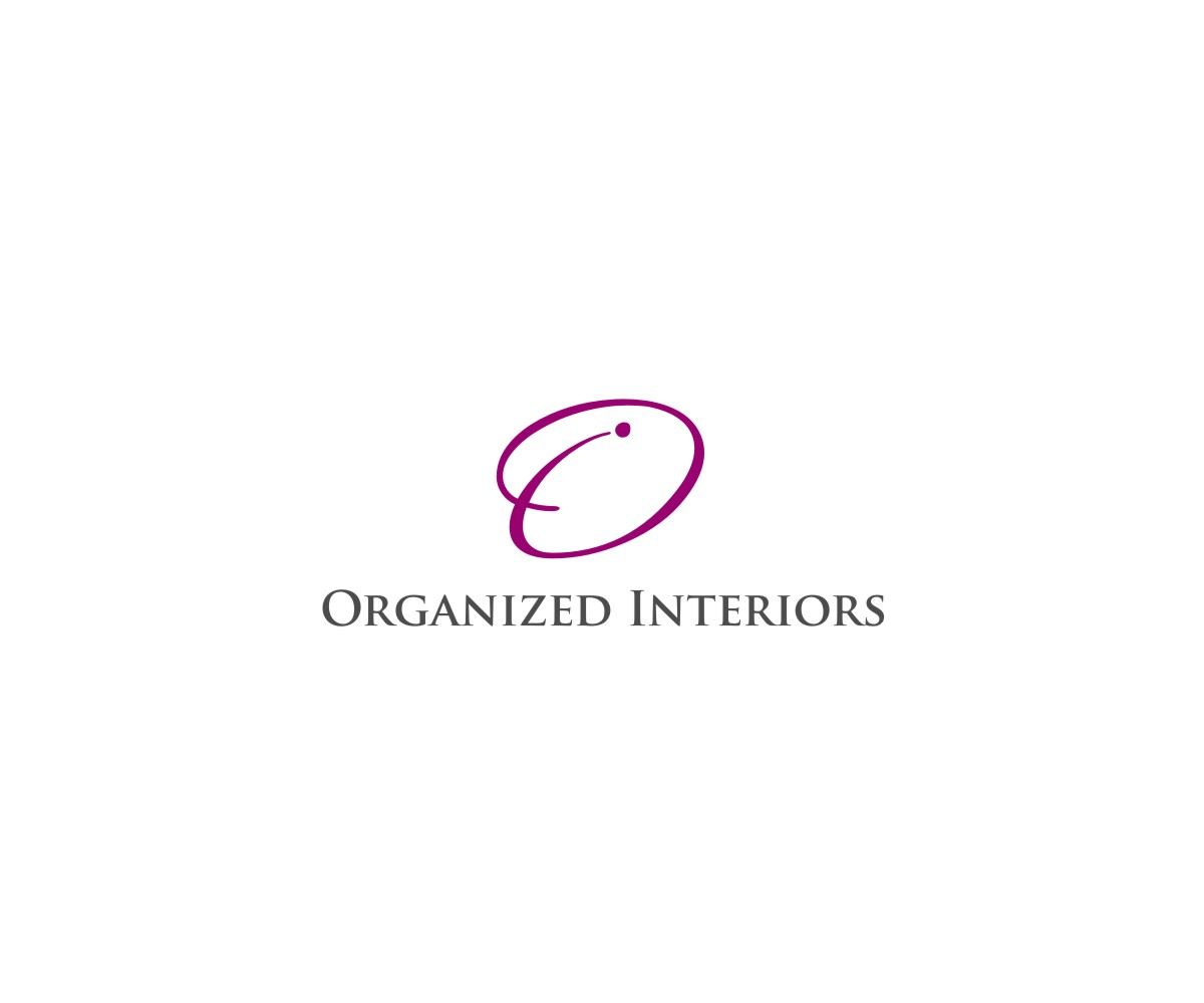Logo Design by untung - Entry No. 95 in the Logo Design Contest Imaginative Logo Design for Organized Interiors.