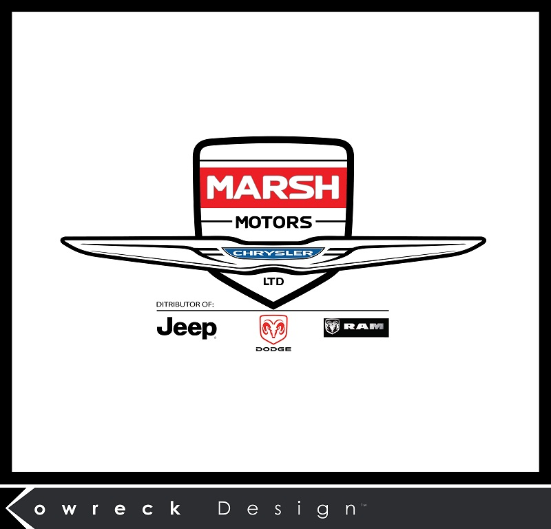 Logo Design by kowreck - Entry No. 38 in the Logo Design Contest Marsh Motors Chrysler Logo Design.