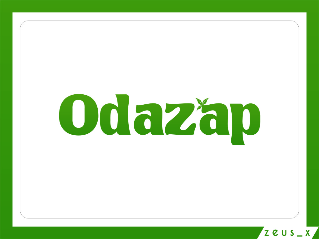 Logo Design by RasYa Muhammad Athaya - Entry No. 26 in the Logo Design Contest New Logo Design for ODAZAP.