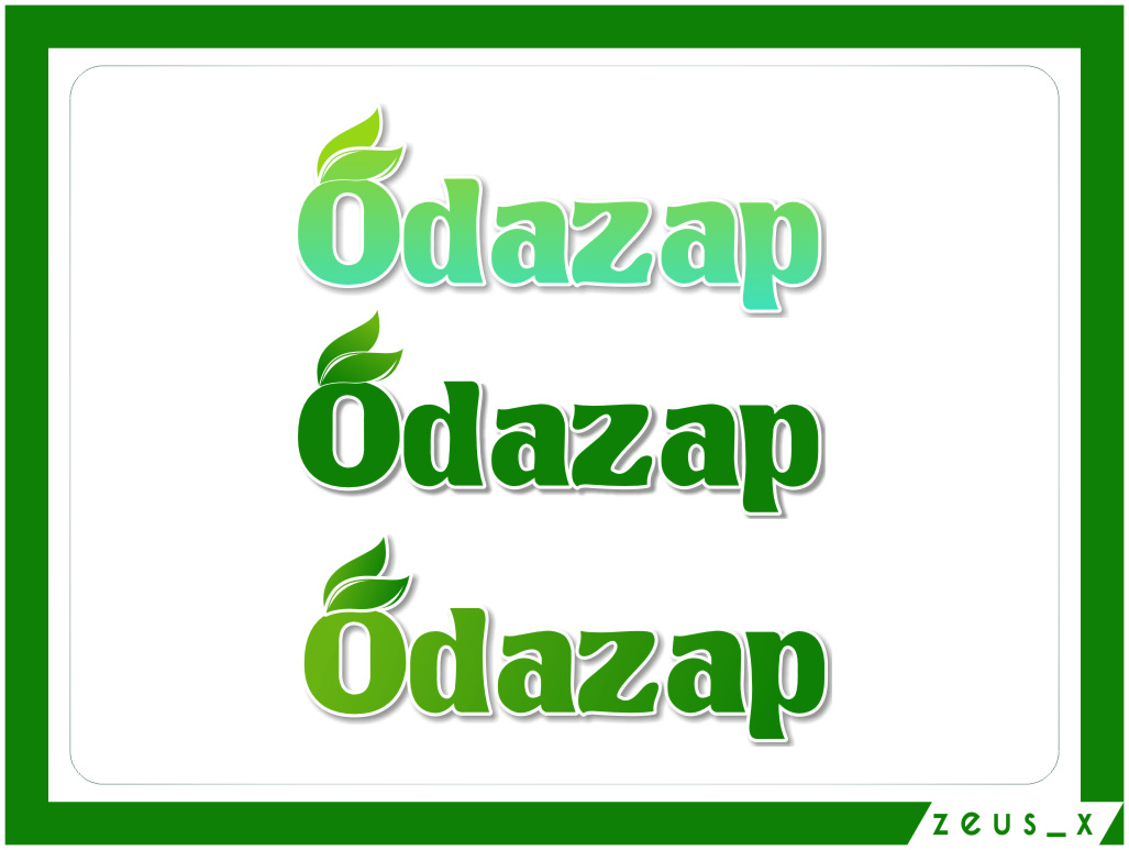 Logo Design by RasYa Muhammad Athaya - Entry No. 28 in the Logo Design Contest New Logo Design for ODAZAP.