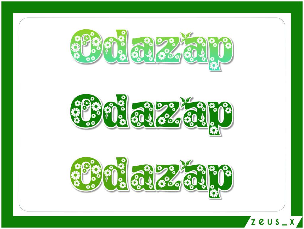 Logo Design by RoSyid Rono-Rene On Java - Entry No. 29 in the Logo Design Contest New Logo Design for ODAZAP.