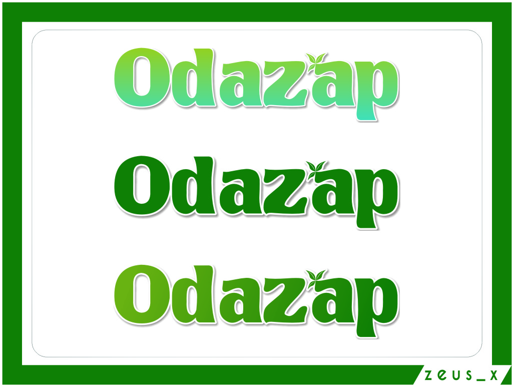 Logo Design by Ngepet_art - Entry No. 30 in the Logo Design Contest New Logo Design for ODAZAP.