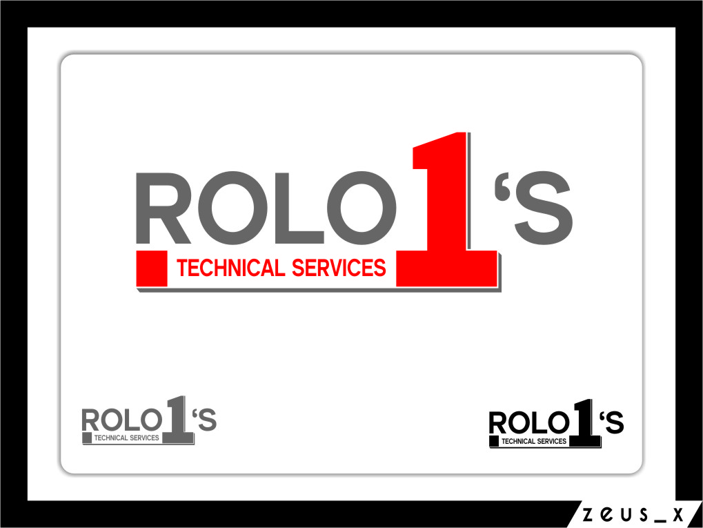 Logo Design by Ngepet_art - Entry No. 3 in the Logo Design Contest Inspiring Logo Design for Rolo1's Technical Services.