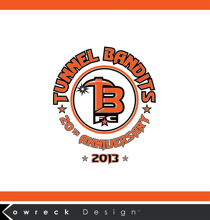 Logo Design by kowreck - Entry No. 30 in the Logo Design Contest Tunnel Bandits Football Club (TBFC) Logo Design.