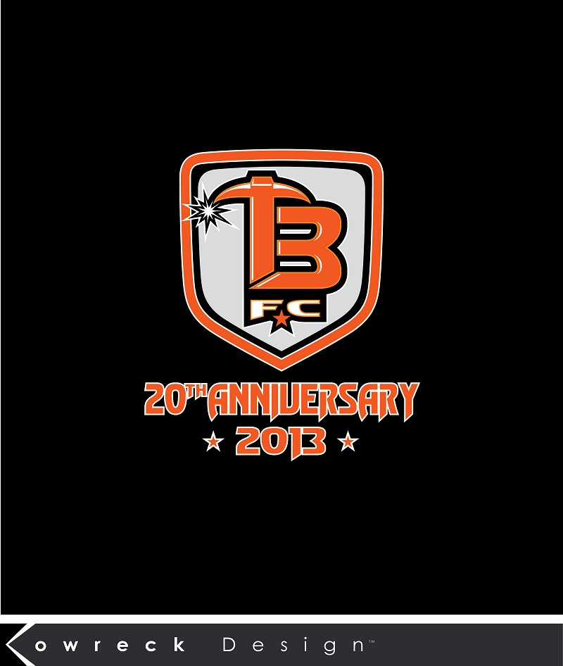 Logo Design by kowreck - Entry No. 31 in the Logo Design Contest Tunnel Bandits Football Club (TBFC) Logo Design.
