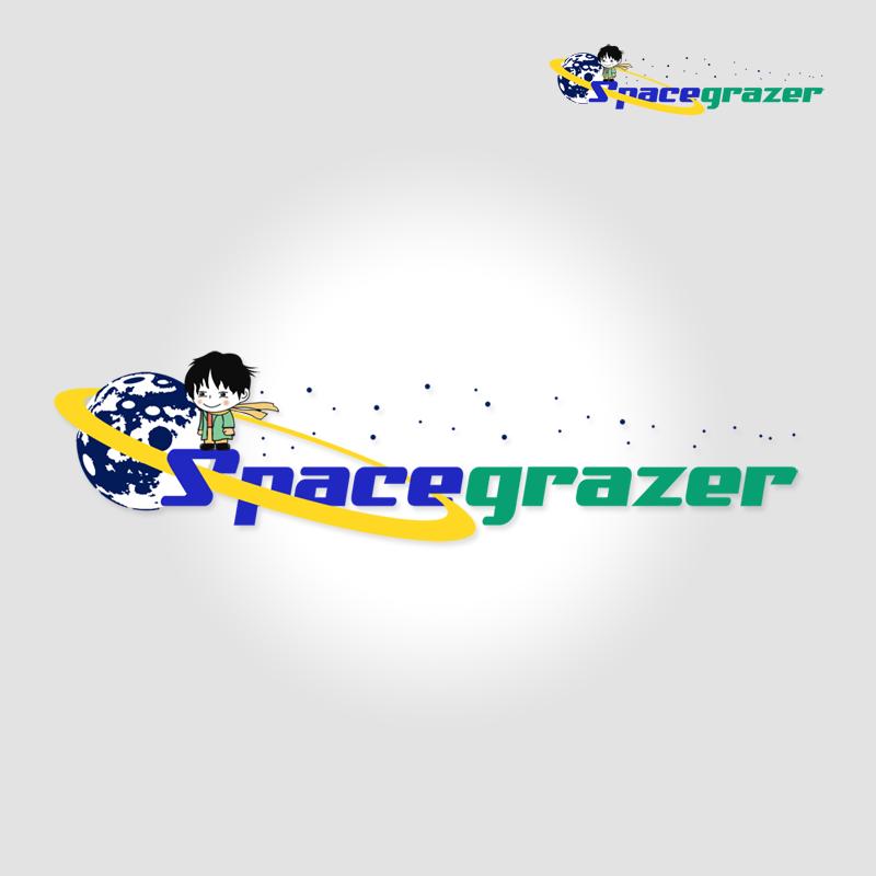 Logo Design by Robert Turla - Entry No. 79 in the Logo Design Contest Fun Logo Design for Spacegrazer.