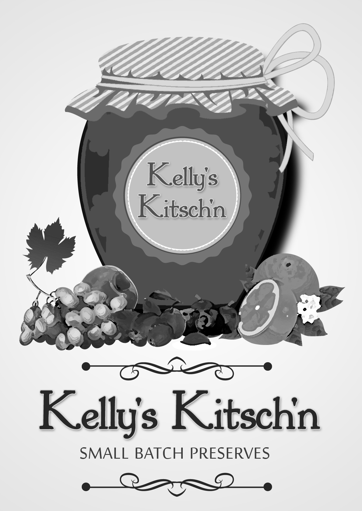 Logo Design by Private User - Entry No. 81 in the Logo Design Contest Unique Logo Design Wanted for Kelly's Kitsch'n.