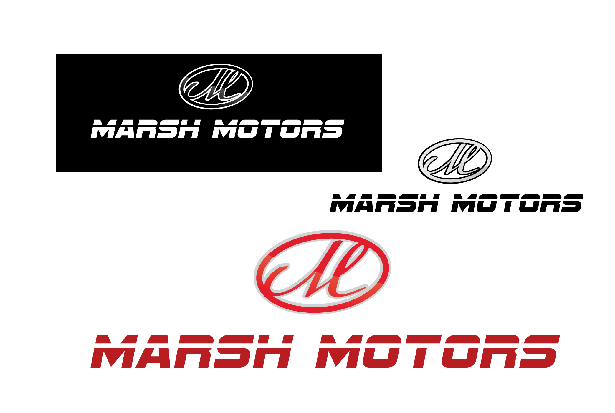 Logo Design by 354studio - Entry No. 42 in the Logo Design Contest Marsh Motors Chrysler Logo Design.