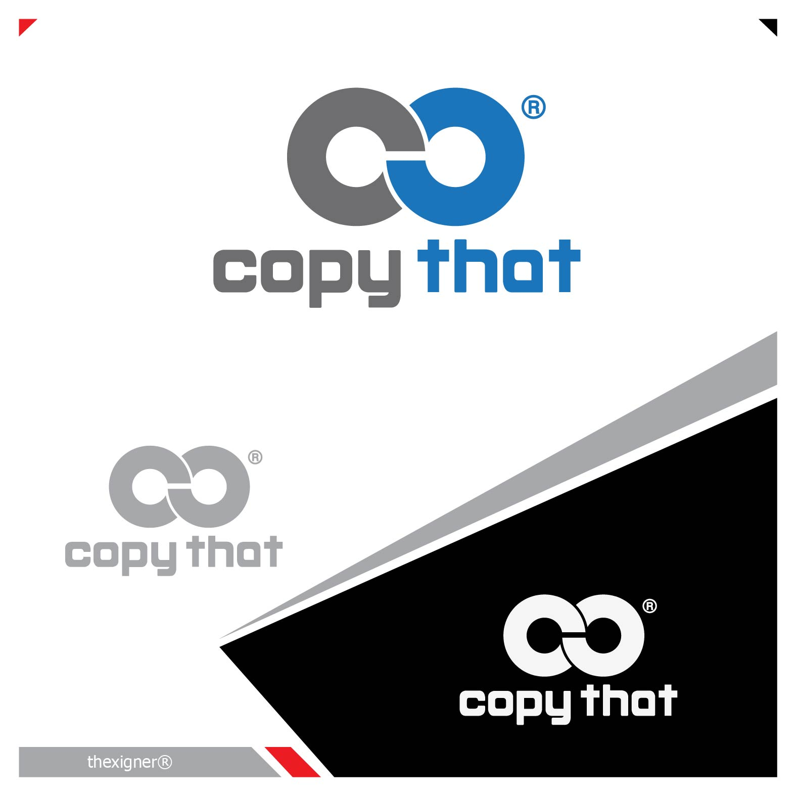 Logo Design by lagalag - Entry No. 22 in the Logo Design Contest Inspiring Logo Design for CopyThat.