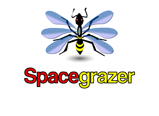 Logo Design by Ismail Adhi Wibowo - Entry No. 83 in the Logo Design Contest Fun Logo Design for Spacegrazer.