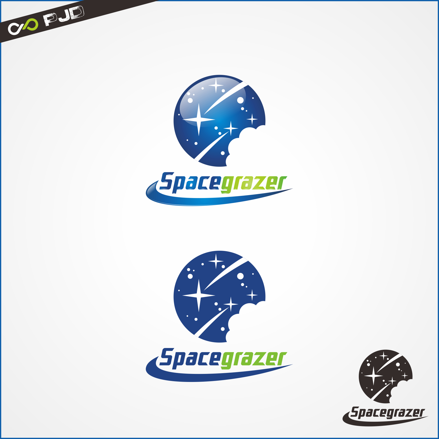Logo Design by PJD - Entry No. 84 in the Logo Design Contest Fun Logo Design for Spacegrazer.