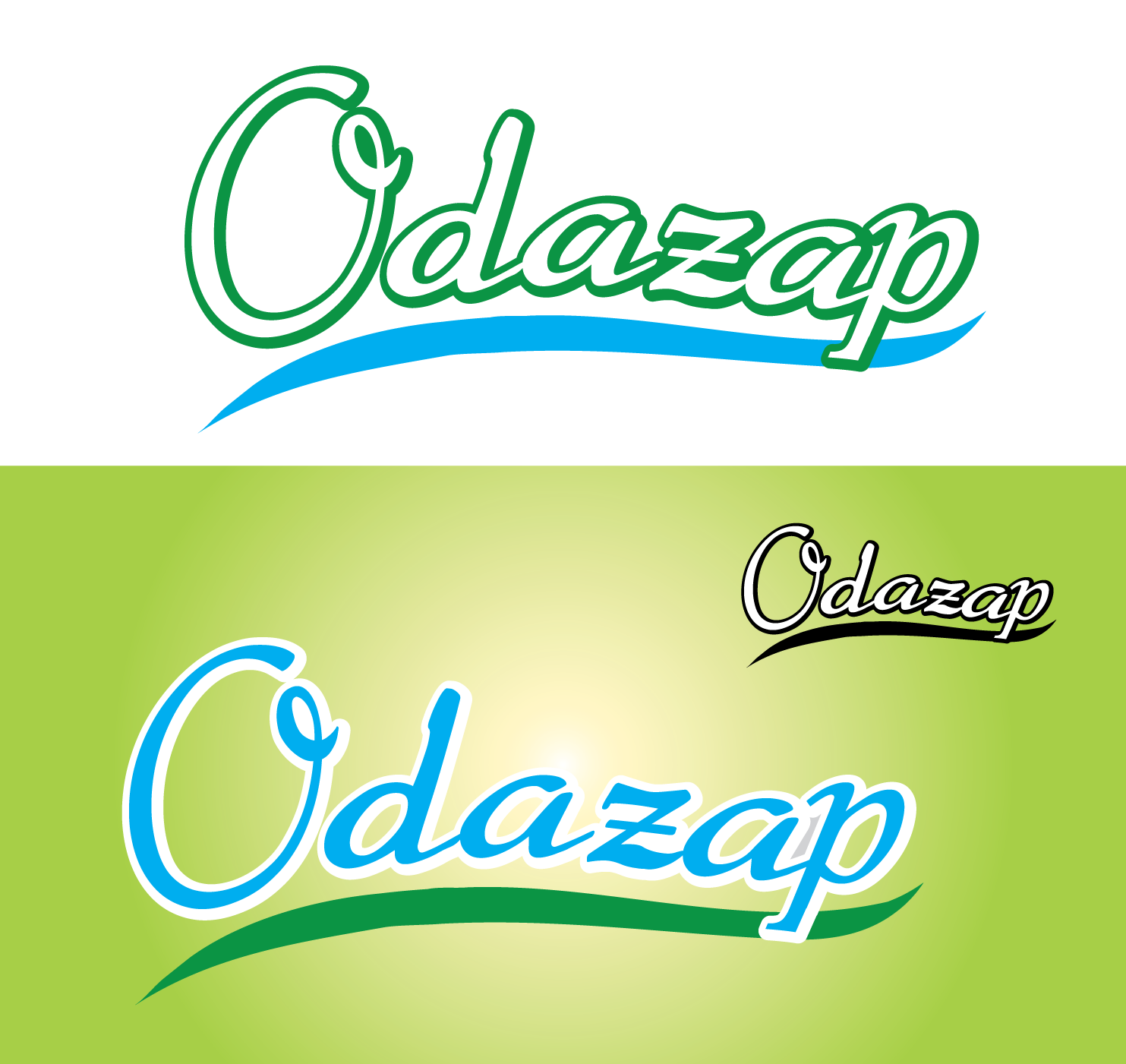 Logo Design by 354studio - Entry No. 33 in the Logo Design Contest New Logo Design for ODAZAP.