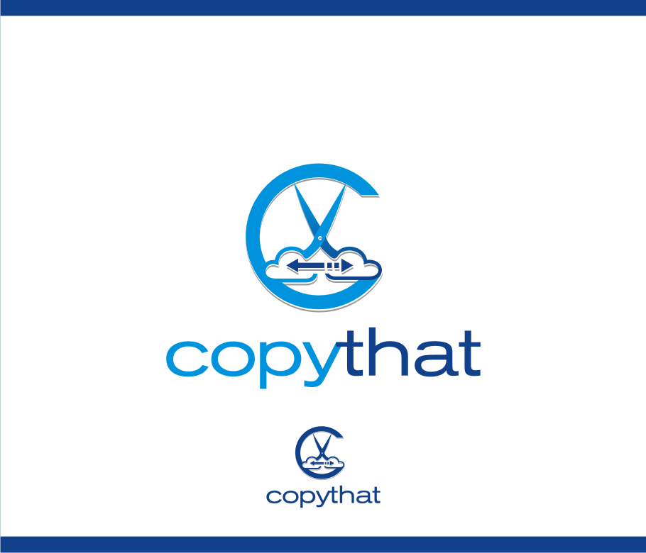 Logo Design by graphicleaf - Entry No. 23 in the Logo Design Contest Inspiring Logo Design for CopyThat.