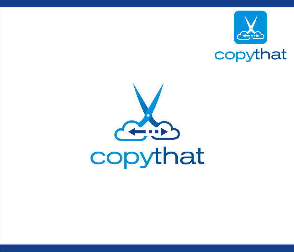 Logo Design by graphicleaf - Entry No. 24 in the Logo Design Contest Inspiring Logo Design for CopyThat.