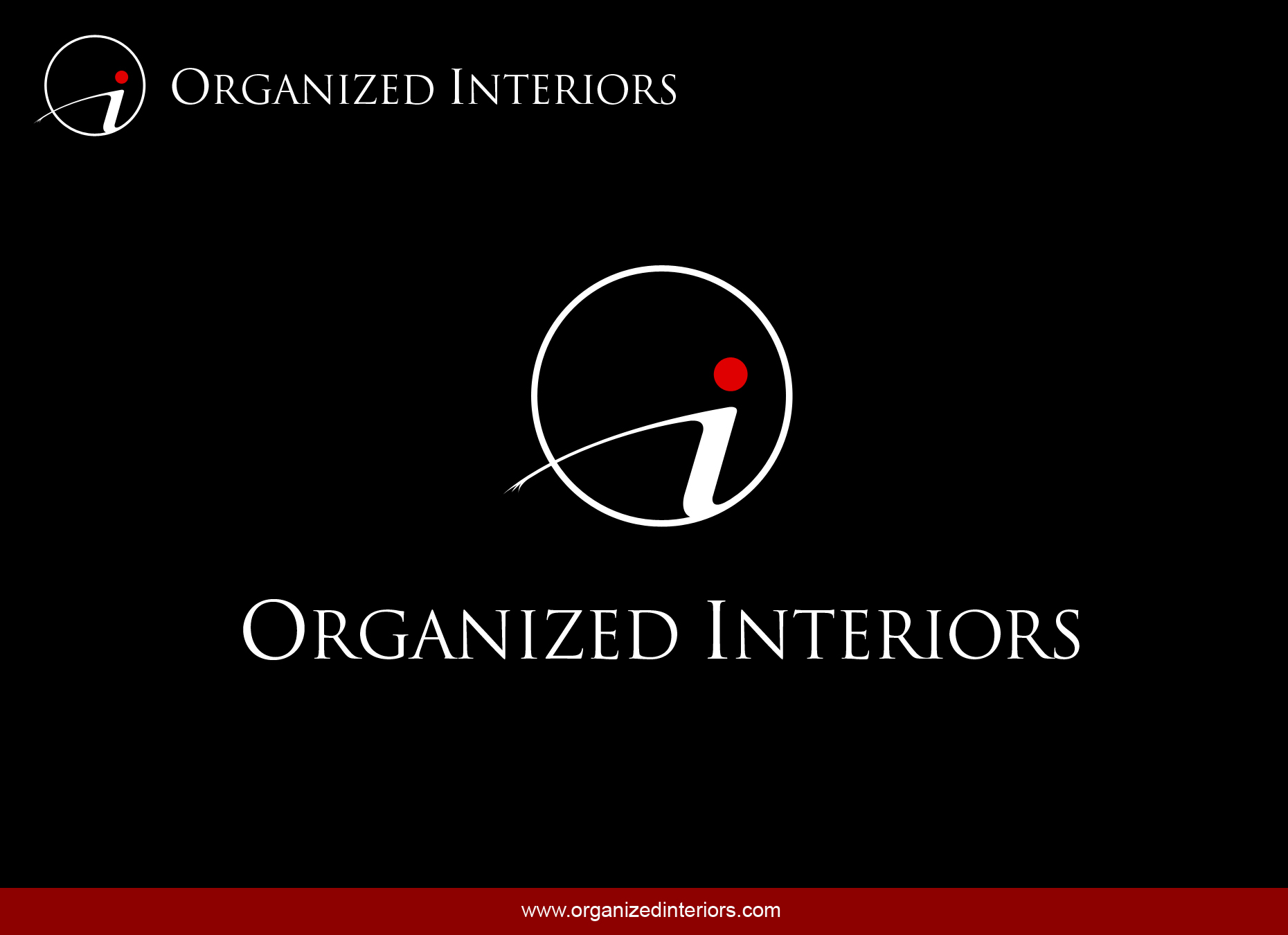 Logo Design by omARTist - Entry No. 103 in the Logo Design Contest Imaginative Logo Design for Organized Interiors.