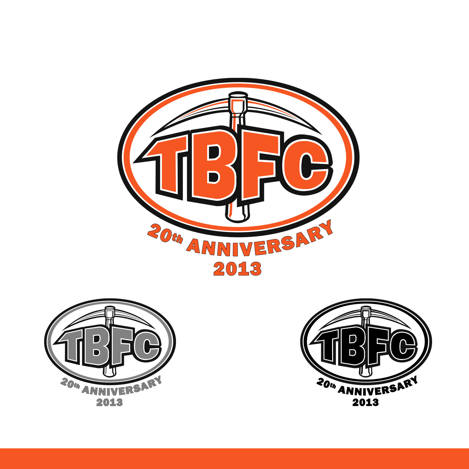 Logo Design by omARTist - Entry No. 38 in the Logo Design Contest Tunnel Bandits Football Club (TBFC) Logo Design.