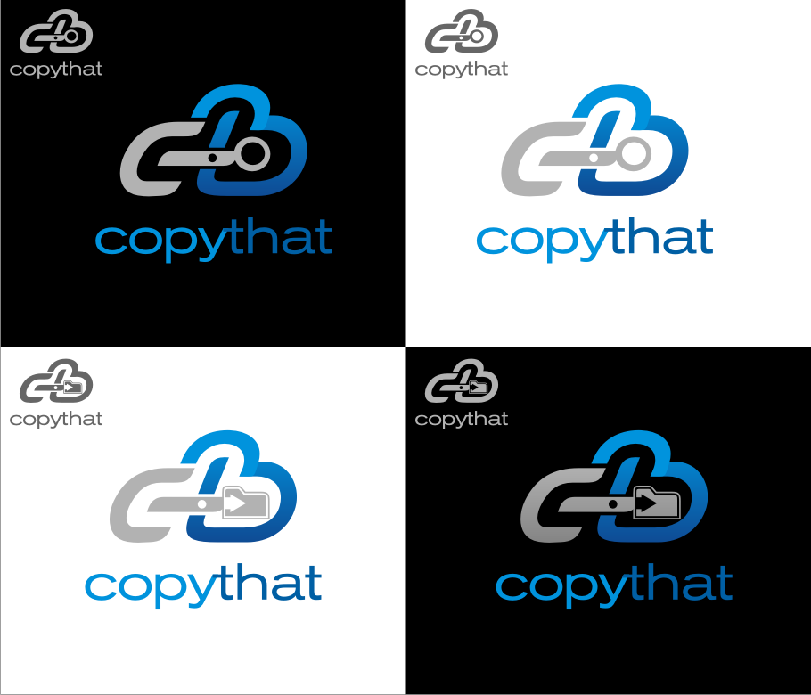Logo Design by graphicleaf - Entry No. 30 in the Logo Design Contest Inspiring Logo Design for CopyThat.
