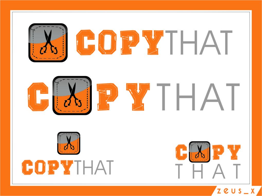 Logo Design by RasYa Muhammad Athaya - Entry No. 37 in the Logo Design Contest Inspiring Logo Design for CopyThat.