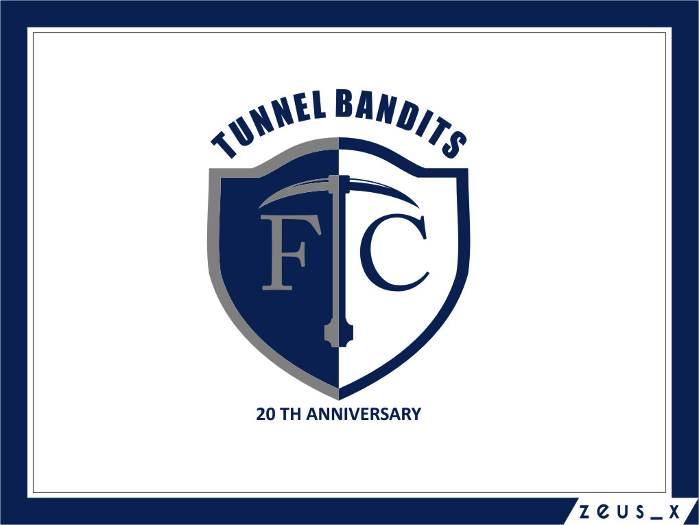 Logo Design by Ngepet_art - Entry No. 40 in the Logo Design Contest Tunnel Bandits Football Club (TBFC) Logo Design.