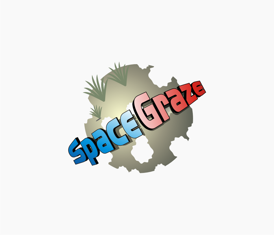 Logo Design by graphicleaf - Entry No. 91 in the Logo Design Contest Fun Logo Design for Spacegrazer.