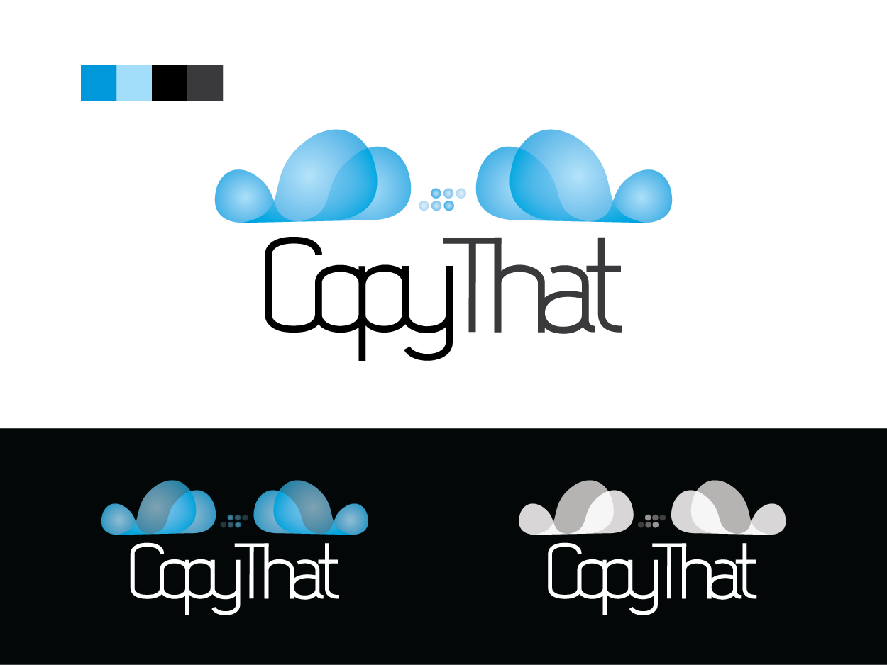 Logo Design by Private User - Entry No. 44 in the Logo Design Contest Inspiring Logo Design for CopyThat.