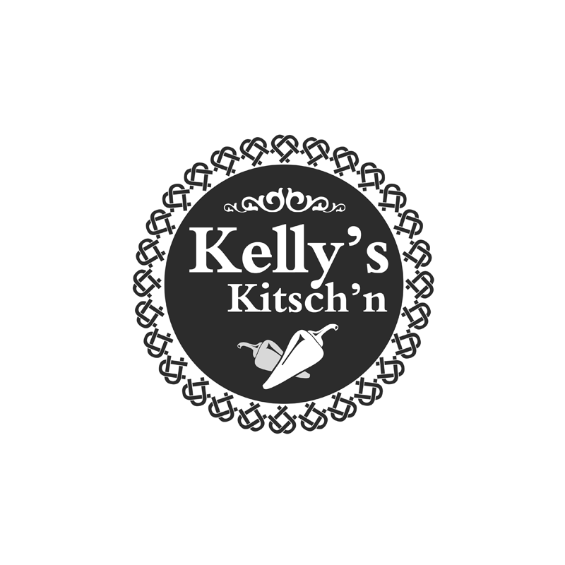 Logo Design by Private User - Entry No. 85 in the Logo Design Contest Unique Logo Design Wanted for Kelly's Kitsch'n.