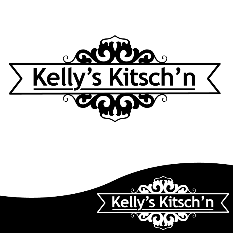Logo Design by Private User - Entry No. 86 in the Logo Design Contest Unique Logo Design Wanted for Kelly's Kitsch'n.