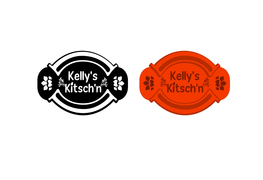 Logo Design by Private User - Entry No. 88 in the Logo Design Contest Unique Logo Design Wanted for Kelly's Kitsch'n.