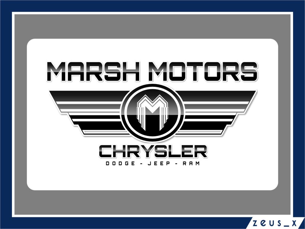 Logo Design by Ngepet_art - Entry No. 64 in the Logo Design Contest Marsh Motors Chrysler Logo Design.