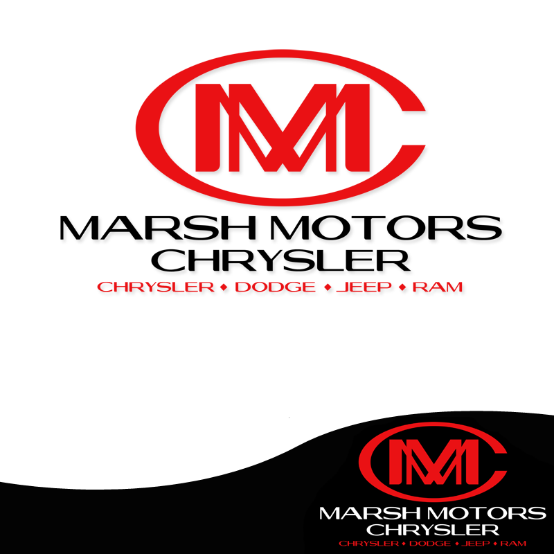 Logo Design by Private User - Entry No. 67 in the Logo Design Contest Marsh Motors Chrysler Logo Design.