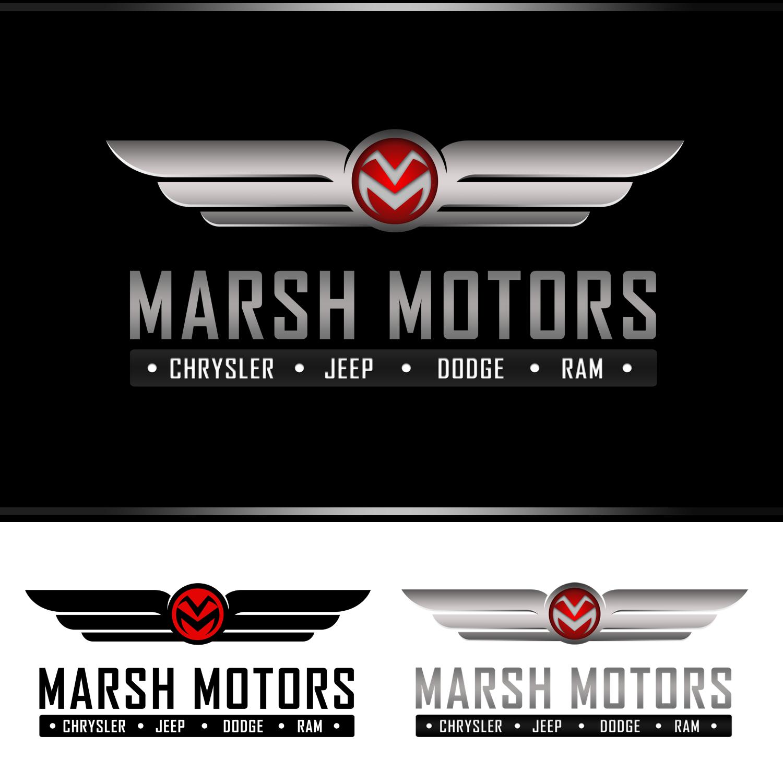Logo Design by omARTist - Entry No. 69 in the Logo Design Contest Marsh Motors Chrysler Logo Design.