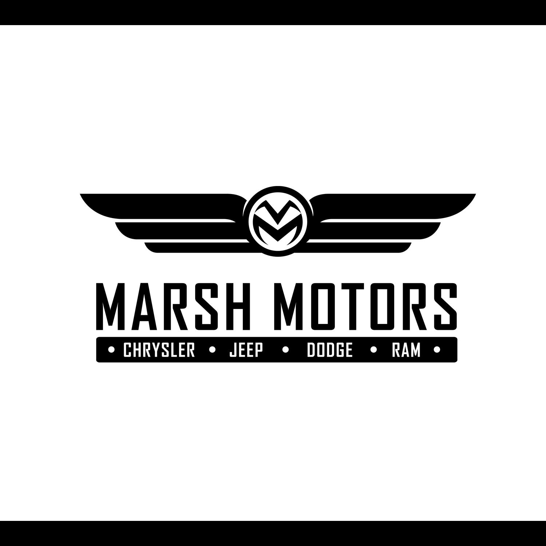 Logo Design by omARTist - Entry No. 70 in the Logo Design Contest Marsh Motors Chrysler Logo Design.