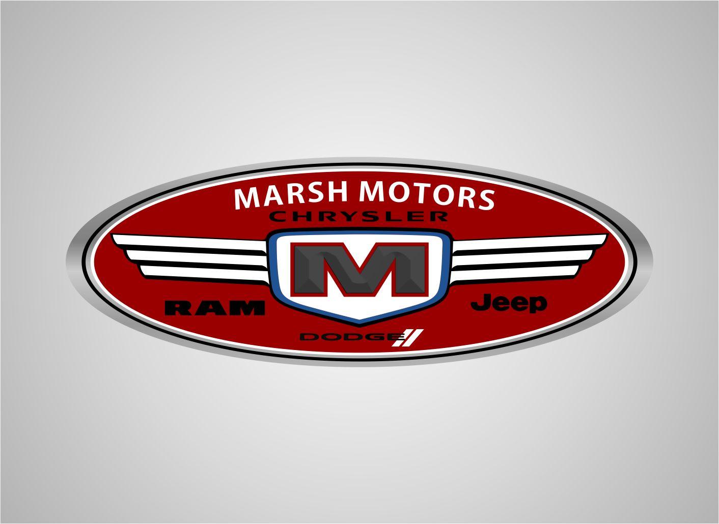 Logo Design by joca - Entry No. 71 in the Logo Design Contest Marsh Motors Chrysler Logo Design.