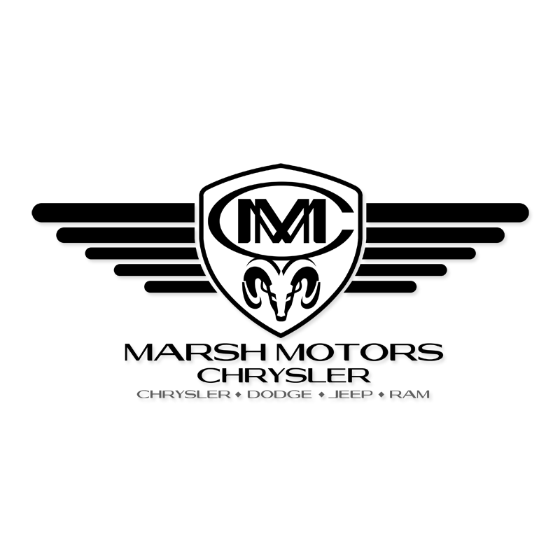 Logo Design by Private User - Entry No. 74 in the Logo Design Contest Marsh Motors Chrysler Logo Design.