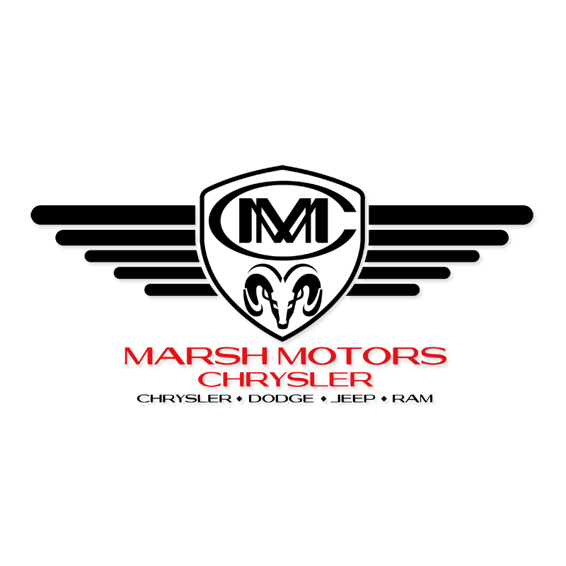 Logo Design by Robert Turla - Entry No. 75 in the Logo Design Contest Marsh Motors Chrysler Logo Design.