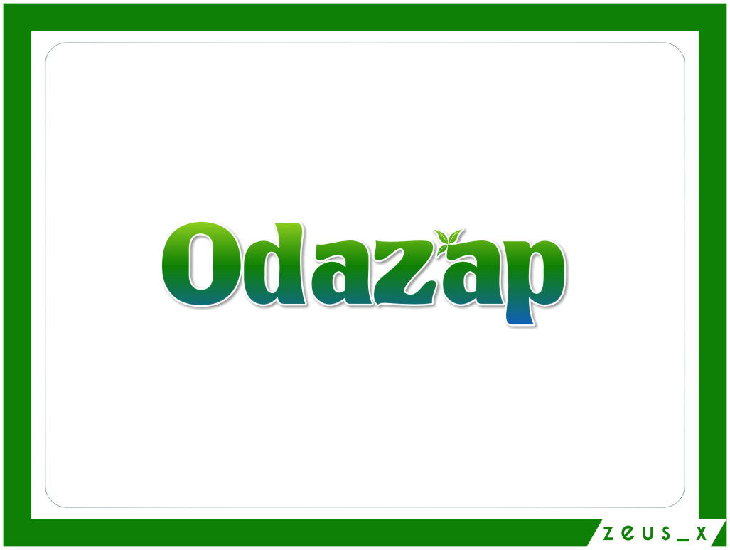 Logo Design by RasYa Muhammad Athaya - Entry No. 39 in the Logo Design Contest New Logo Design for ODAZAP.