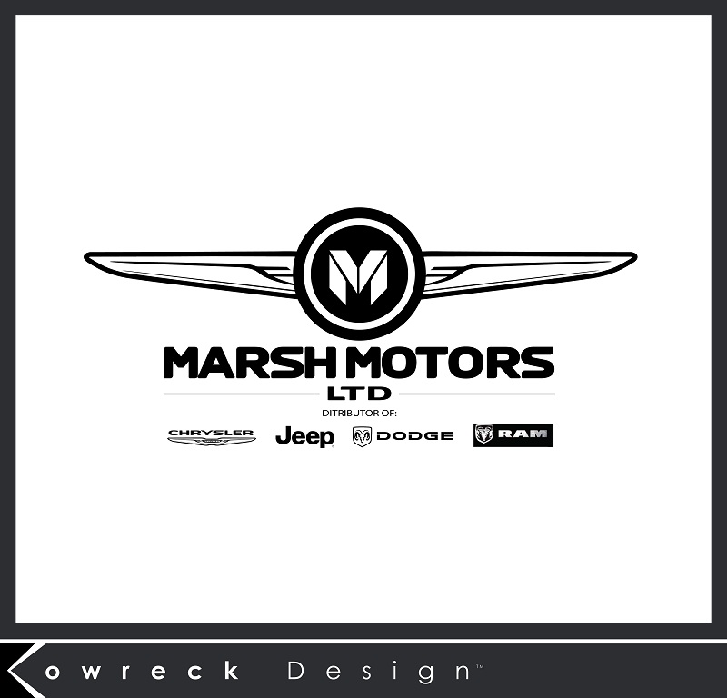 Logo Design by kowreck - Entry No. 76 in the Logo Design Contest Marsh Motors Chrysler Logo Design.