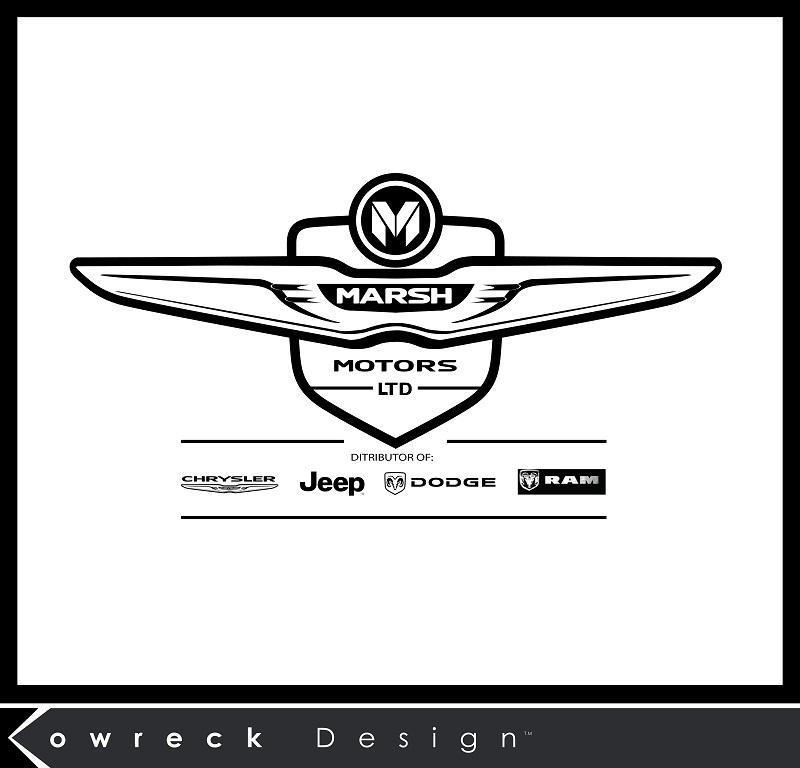 Logo Design by kowreck - Entry No. 78 in the Logo Design Contest Marsh Motors Chrysler Logo Design.