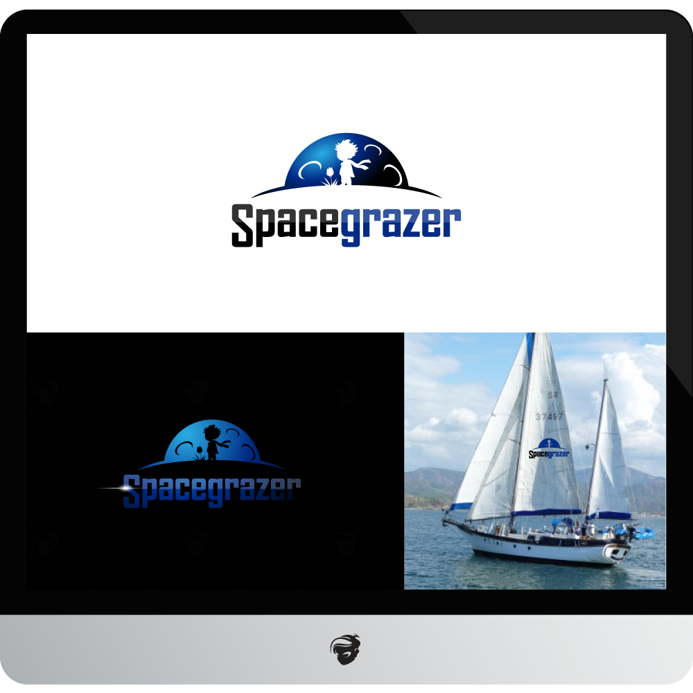 Logo Design by zesthar - Entry No. 96 in the Logo Design Contest Fun Logo Design for Spacegrazer.
