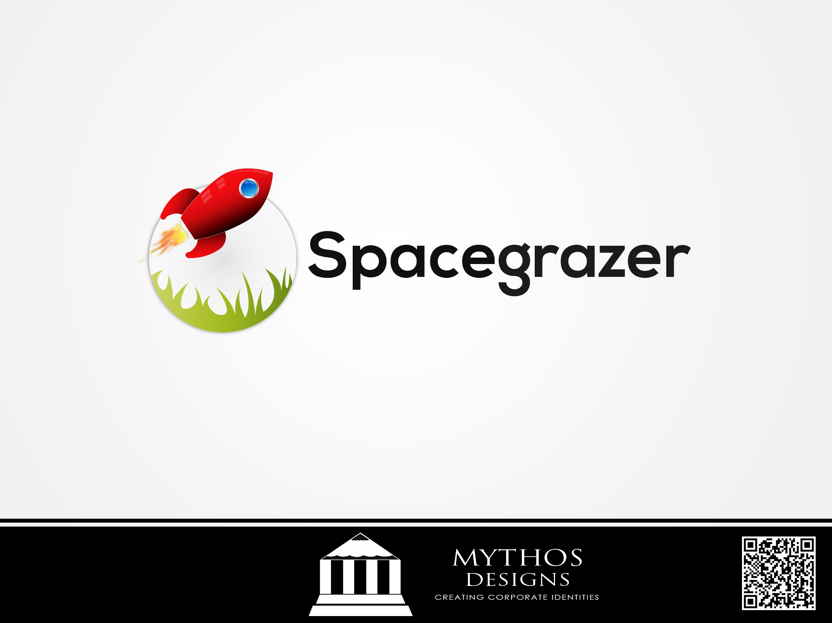 Logo Design by Mythos Designs - Entry No. 104 in the Logo Design Contest Fun Logo Design for Spacegrazer.