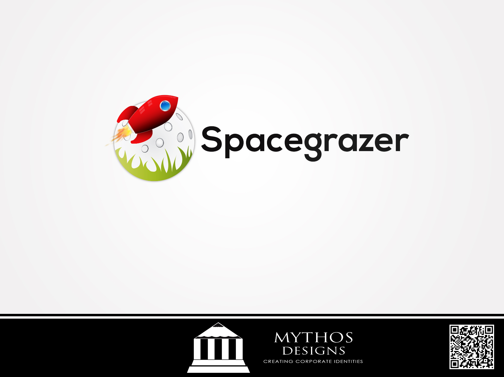 Logo Design by Mythos Designs - Entry No. 105 in the Logo Design Contest Fun Logo Design for Spacegrazer.