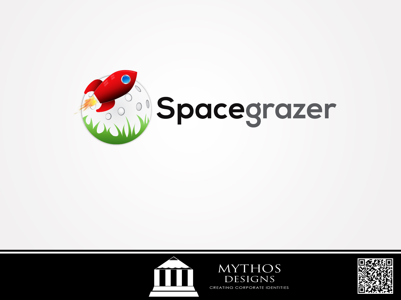 Logo Design by Mythos Designs - Entry No. 106 in the Logo Design Contest Fun Logo Design for Spacegrazer.