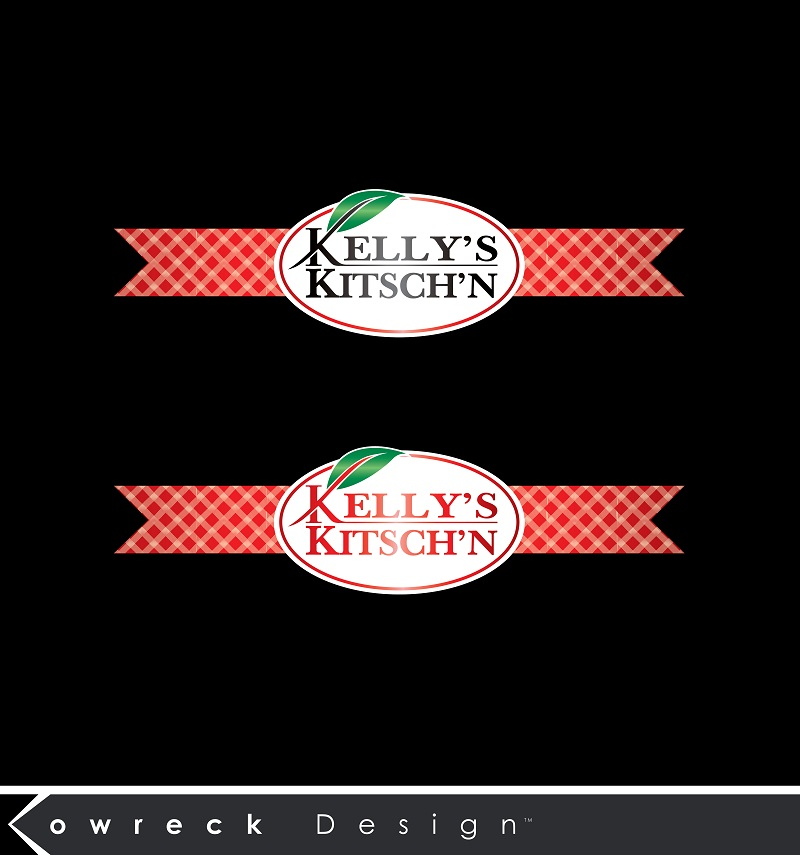 Logo Design by kowreck - Entry No. 89 in the Logo Design Contest Unique Logo Design Wanted for Kelly's Kitsch'n.