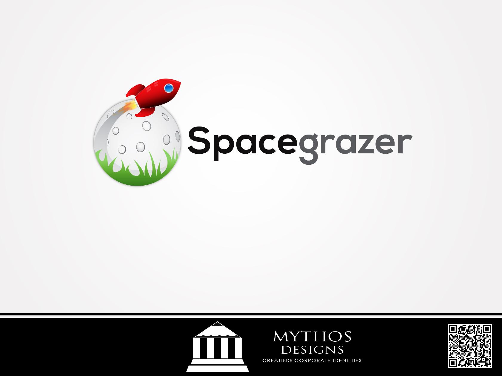 Logo Design by Mythos Designs - Entry No. 107 in the Logo Design Contest Fun Logo Design for Spacegrazer.