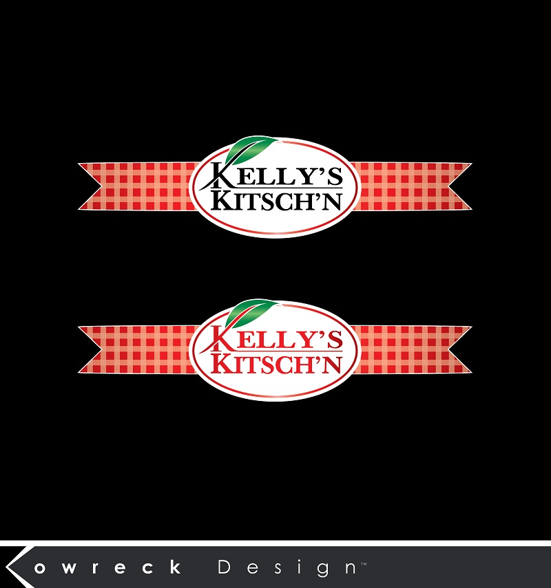 Logo Design by kowreck - Entry No. 94 in the Logo Design Contest Unique Logo Design Wanted for Kelly's Kitsch'n.