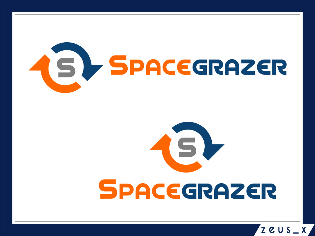 Logo Design by RasYa Muhammad Athaya - Entry No. 114 in the Logo Design Contest Fun Logo Design for Spacegrazer.