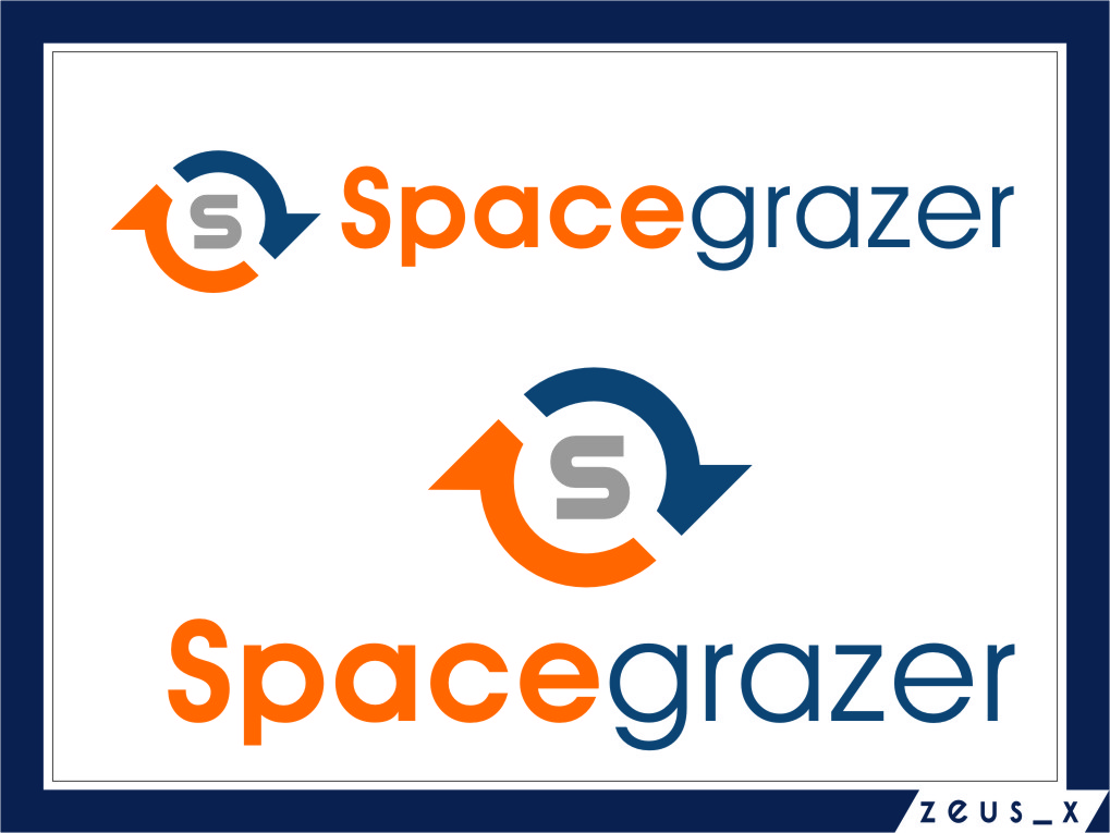 Logo Design by RasYa Muhammad Athaya - Entry No. 120 in the Logo Design Contest Fun Logo Design for Spacegrazer.